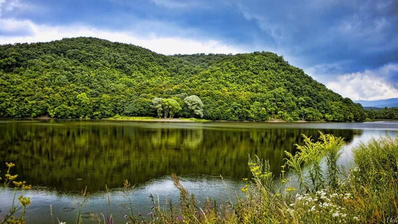 Природные просторы Венгрии так и просятся под кисть живописца
