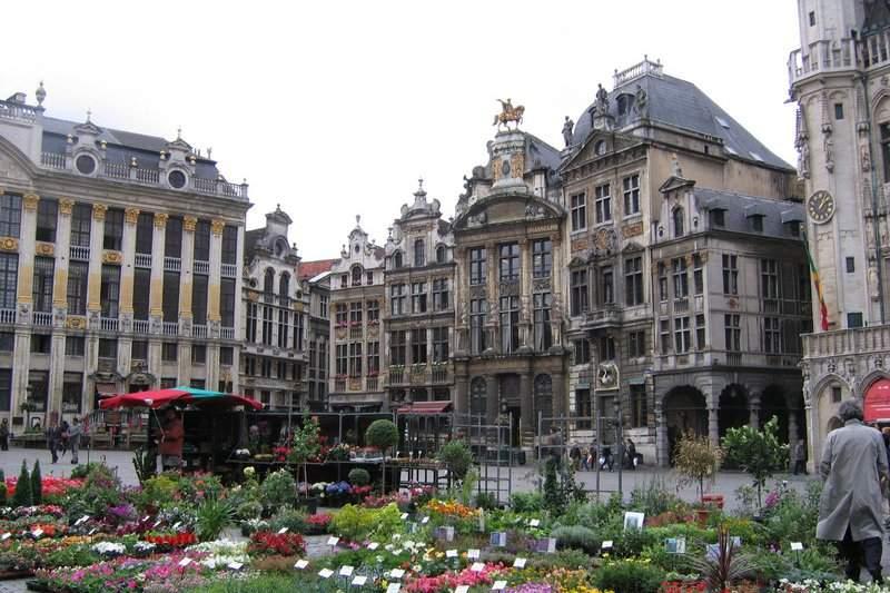 Архитектура Бельгии интересна своим разнообразием
