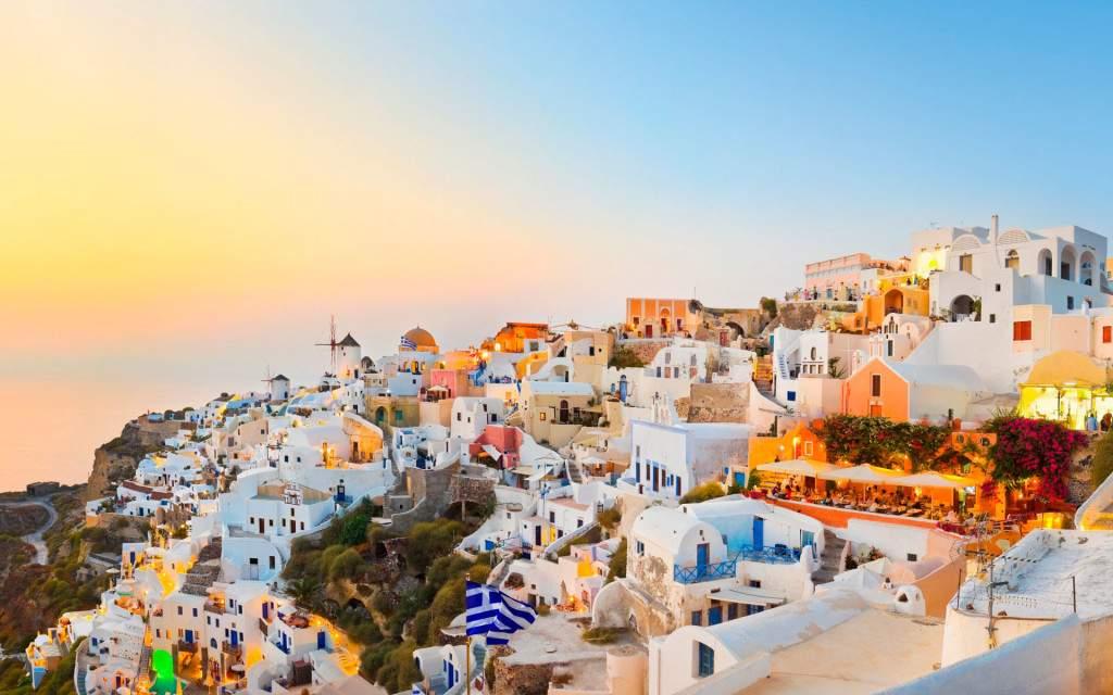 Греческие заказы нежны и красивы