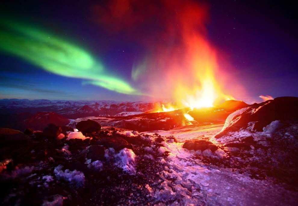 Ирландские вулканы соседствуют с ледниками, и для многих туристов это двойной магнит