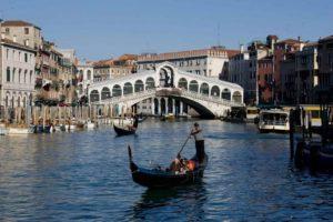 Венеция прогулка на гондолах
