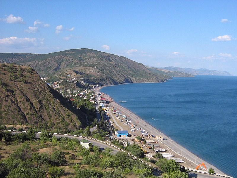 Отдых в поселке Рыбачье, Крым