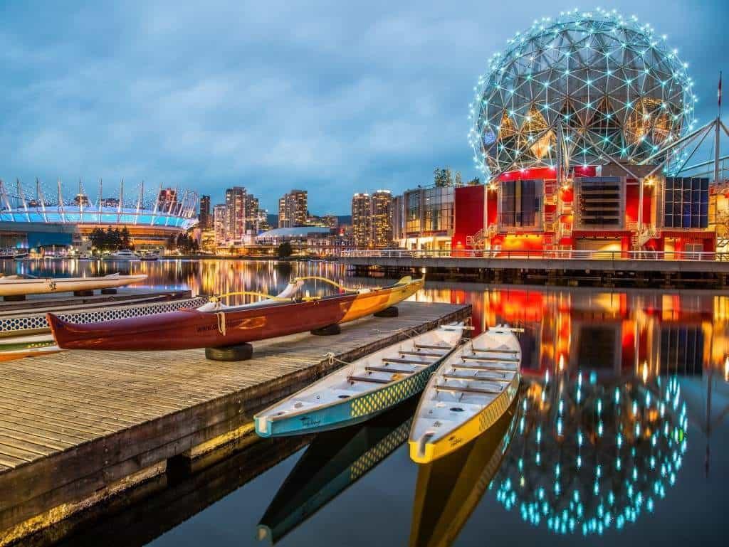 Города Канады не менее красивы, чем ее суровая северная природа
