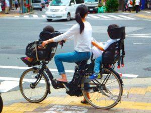 Активное использование велосипеда в Японии