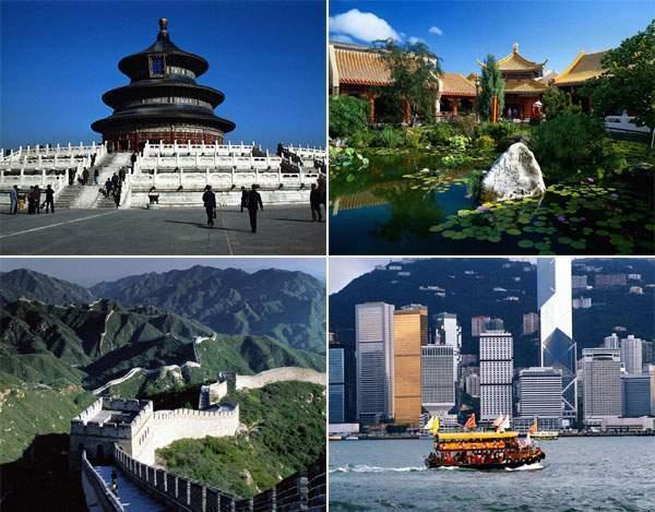 В Китае есть, на что посмотреть - одной Великой Стеной дело не ограничится