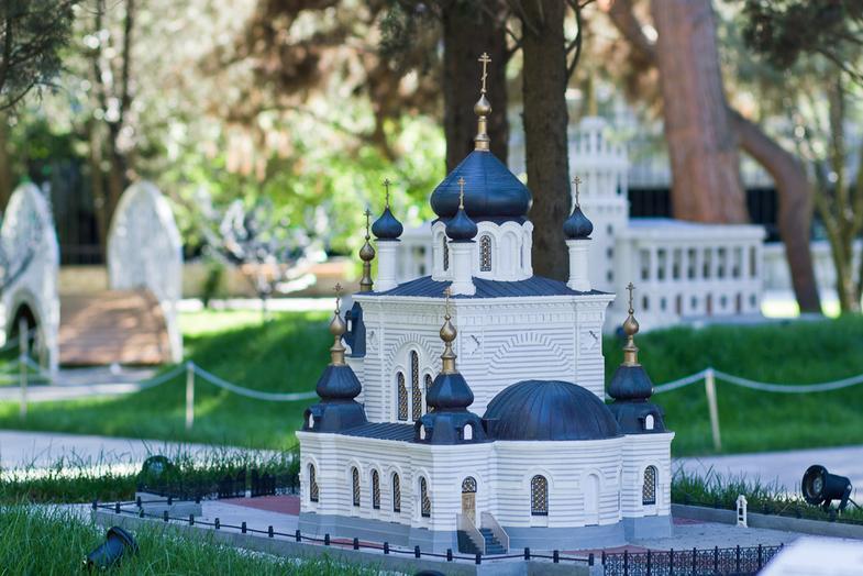 Парк миниатюр в Алуште