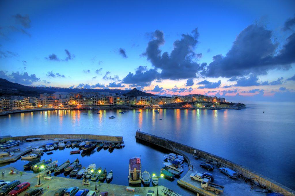 Мальта - островное государство, поэтому море здесь буквально в 2 шагах