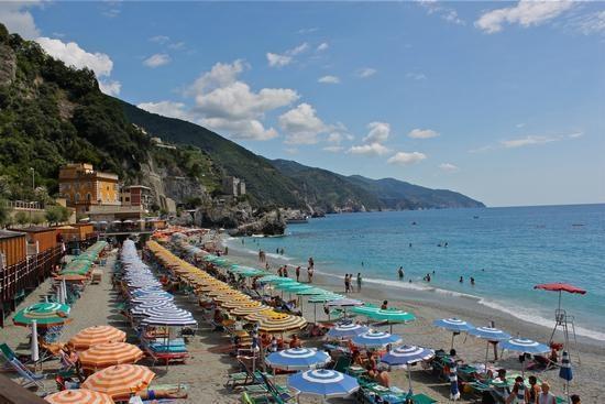 Пляжи Италии при гостинице