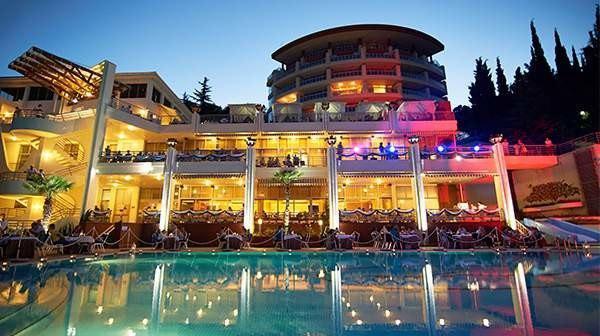 """Алушта, отель """"Море"""""""