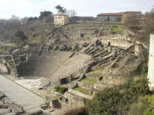Руины былого величия римлян