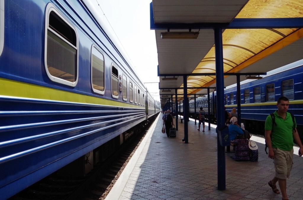 В Крым на поезде из Москвы