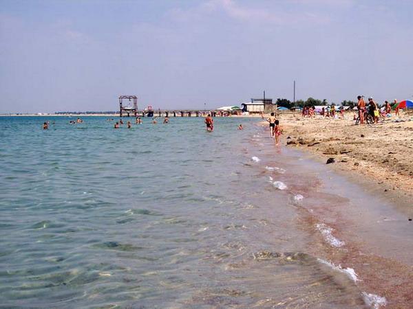 Отдых в Крыму, поселок Заозерное